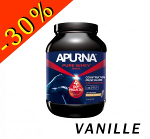 APURNA PURE WHEY ISOLAT vanille pot 2200gr construction musculaire