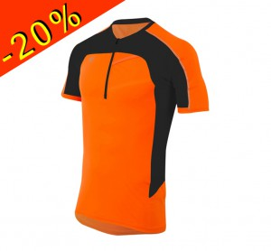 PEARL IZUMI maillot running/trail homme manches courtes pursuit orange