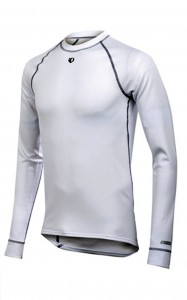 PEARL IZUMI maillot technique thermal manche longue blanc