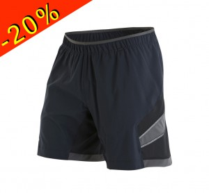 PEARL IZUMI short running homme long pursuit 7 noir