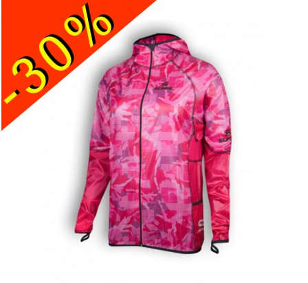 SURAL KILIMANJARO III veste running coupe vent-imperméable rose