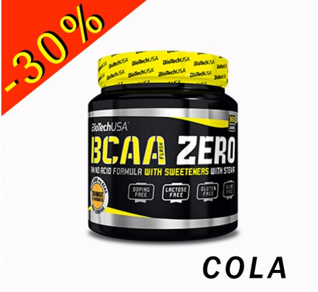 BIOTECHUSA BCAA FLASH ZERO ratio 2.1.1 pot 360gr cola
