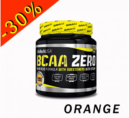 BIOTECHUSA BCAA FLASH ZERO ratio 2.1.1 pot 360gr orange