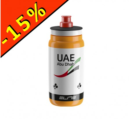 ELITE FLY TEAM ABU DHABI bidon 550ml blanc