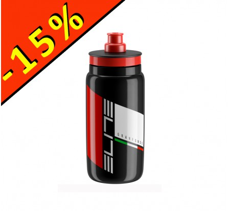 ELITE FLY TEAM GRANFONDO 2017 bidon 550ml noir