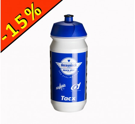 TACX SHIVA DECEUNINCK QUICK STEP FLOORS 2019 bidon 500ml