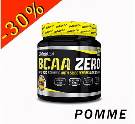 BIOTECHUSA BCAA FLASH ZERO ratio 2.1.1 pot 360gr pomme