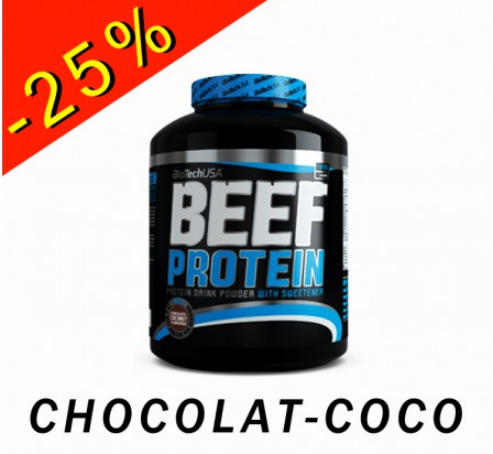 BIOTECHUSA BEEF PROTEIN chocolat-coco 1816gr