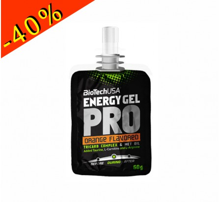 BIOTECHUSA ENERGY GEL PRO orange 60gr