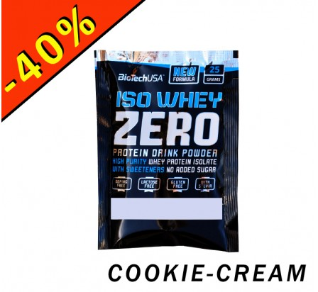BIOTECHUSA ISO WHEY ZERO cookie-cream 25gr