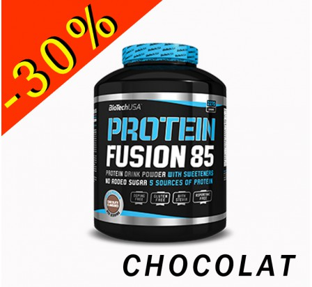 BIOTECHUSA PROTEIN FUSION 85 chocolat 454gr