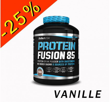 BIOTECHUSA PROTEIN FUSION 85 vanille 2270gr