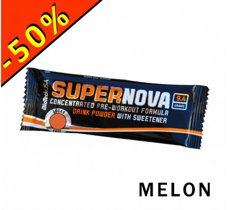 BIOTECHUSA SUPERNOVA formule booster pre workout 9,4gr melon