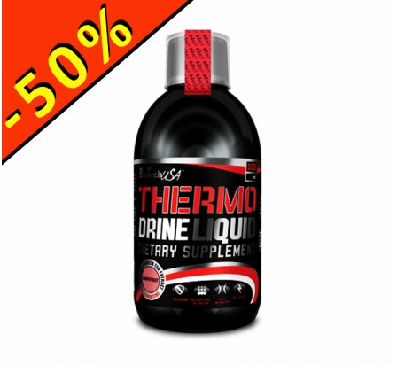 BIOTECHUSA THERMO DRINE LIQUIDE 500ml pamplemousse
