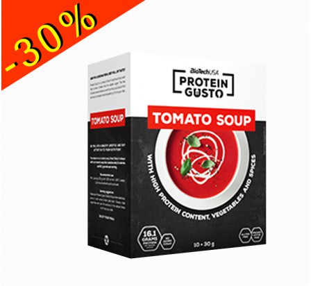 BIOTECHUSA PROTEIN GUSTO soupe saveur tomate 300gr
