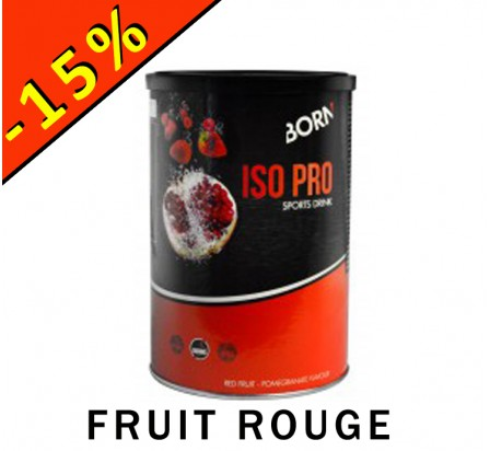 BORN ISO PRO SPORT DRINK 400g fruit rouge