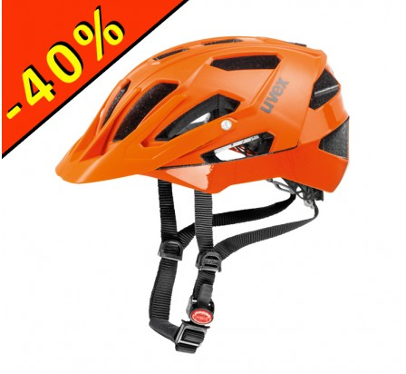 CASQUE UVEX QUATRO orange