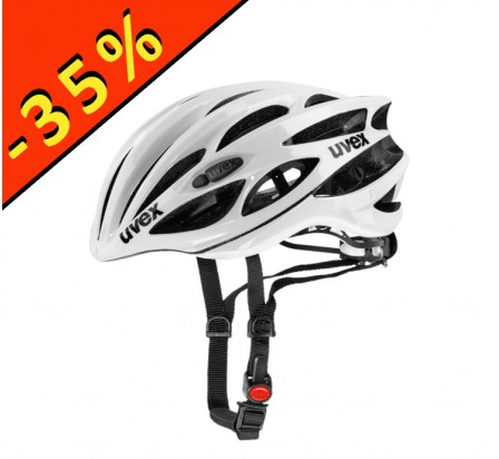 CASQUE UVEX RACE 1 blanc