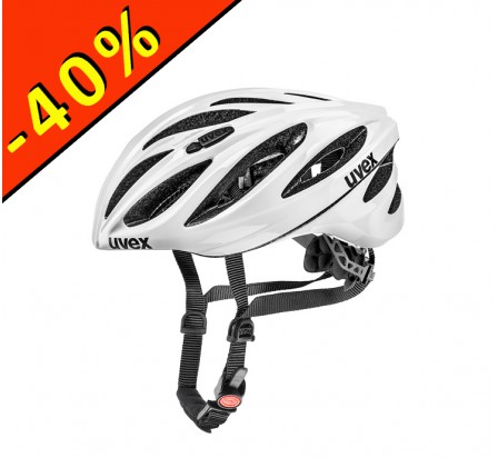 CASQUE UVEX BOSS RACE blanc