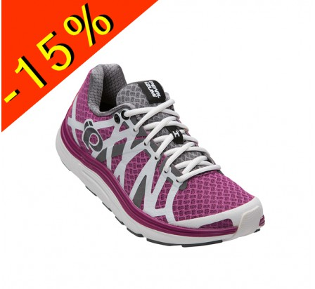 PEARL IZUMI EM ROAD H3 chaussure running pronatrice femme violet/blanc