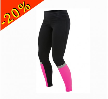 PEARL IZUMI collant running femme hiver thermal noir/rose