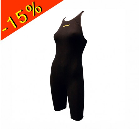 combinaison compétition natation finis onyx race john black femme adulte/junior