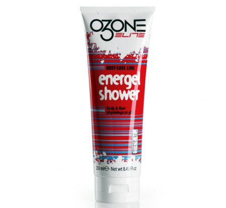 OZONE ELITE gel douche sport energel shower 250ml savon et shampooing