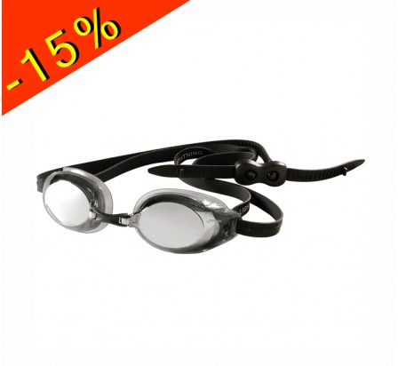 lunette de natation compétition adulte finis lightning silver mirror