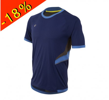 PEARL IZUMI maillot running homme manches courtes pursuit bleu