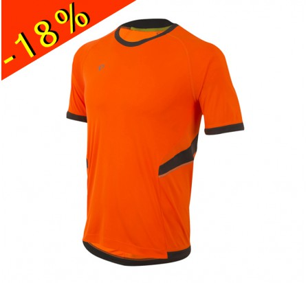 PEARL IZUMI maillot running homme manches courtes pursuit orange