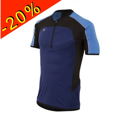 PEARL IZUMI maillot running/trail homme manches courtes pursuit bleu