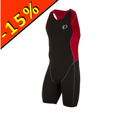 PEARL IZUMI TRIFONCTION ELITE PURSUIT homme noir-rouge