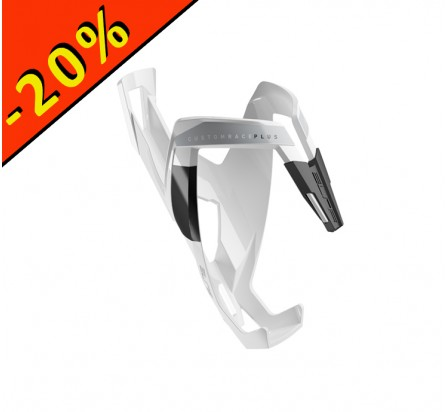 ELITE PORTE BIDON CUSTOM RACE PLUS blanc-noir