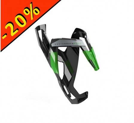 ELITE PORTE BIDON CUSTOM RACE PLUS noir-vert