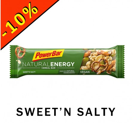 POWERBAR NATURAL ENERGY sweet'n salty 40gr