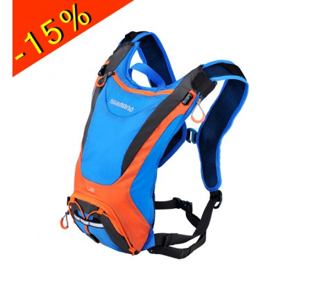 SHIMANO UNZEN 2 sac hydratation 2L bleu/orange