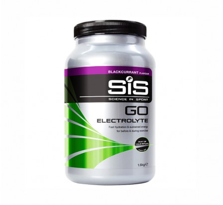 SIS go électrolytes cassis pot 1.6kg science in sport