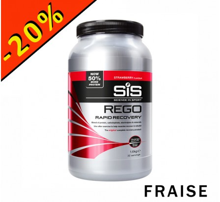SIS REGO RAPID RECOVERY fraise 1000gr
