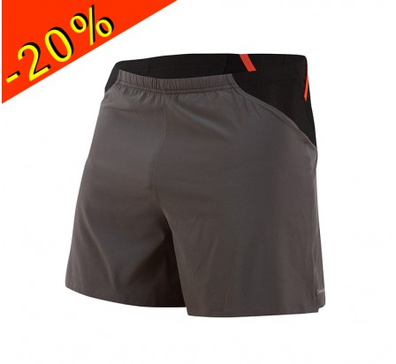 PEARL IZUMI short running homme court fly endurance gris/orange