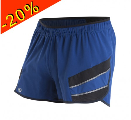 PEARL IZUMI short running homme court pursuit 3 bleu/noir