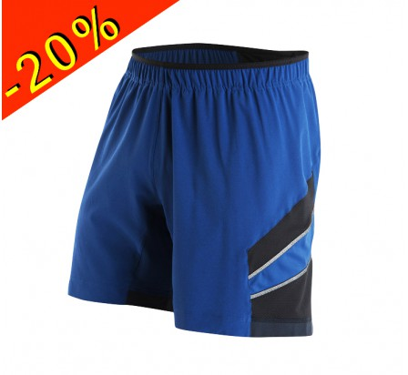 PEARL IZUMI short running homme long pursuit 7 bleu/noir