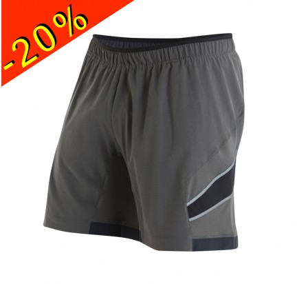 PEARL IZUMI short running homme long pursuit 7 gris
