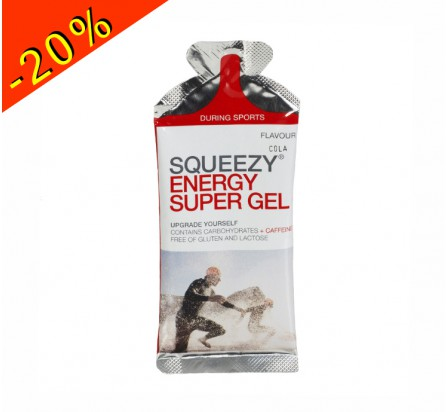 SQUEEZY energy super gel cola 33gr
