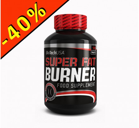 BIOTECHUSA SUPER FAT BURNER 120 comprimés