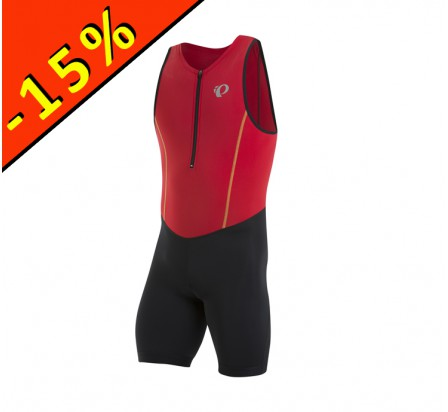 PEARL IZUMI TRIFONCTION SELECT PURSUIT homme noir-rouge