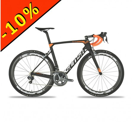 SENSA GIULIAERO DURA ACE noir-orange-matt vélo de route 2017