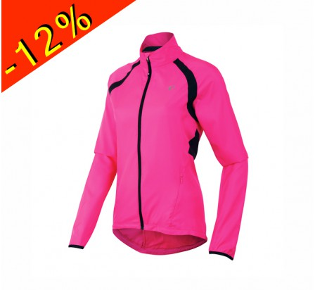 PEARL IZUMI ELITE BARRIER coupe vent cyclisme femme rose