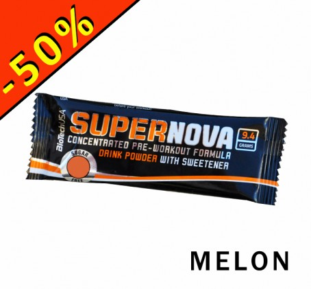 BioTech USA Supernova - formule pre-workout - melon - échantillon 9,4gr - ILLIMITsport.com