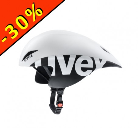 Casque UVEX Race 2 Pro - casque de chrono - blanc noir - ILLIMITsport.com