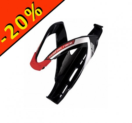 Porte bidon - ELITE CUSTOM RACE - noir rouge - ILLIMITsport.com